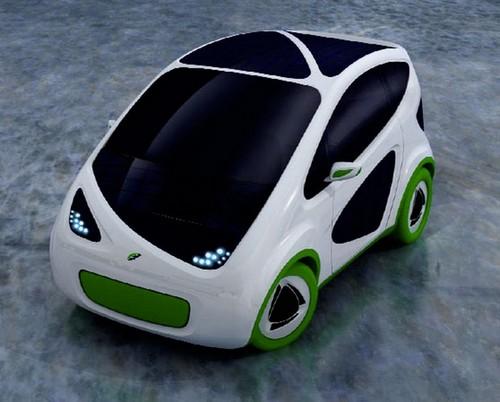 Автомобиль на солнечных батареях